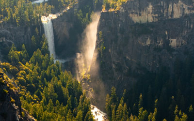 Heavenly Yosemite Waterfalls – A View Rarely Seen!